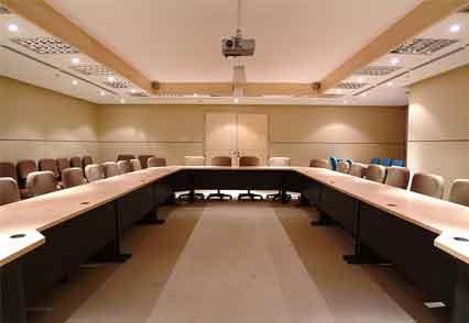 Board Room table Metal I-leg